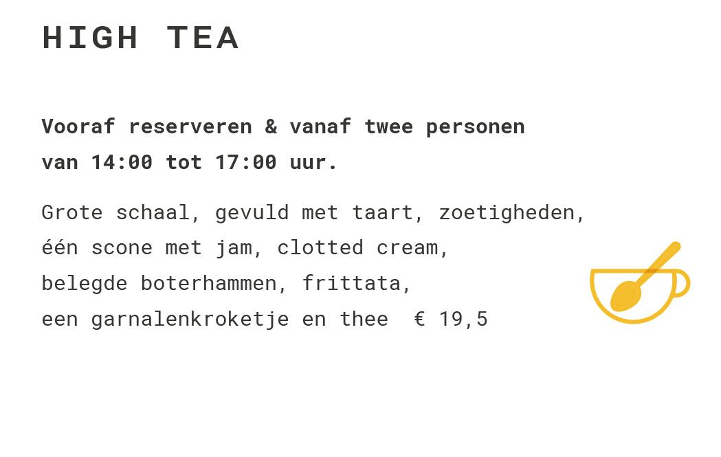 high tea mobiel